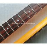 기타는 자단, Fingerboard 포도 수확 니트로 완성되는 텔레 기타 목을 분해한다