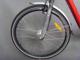 セリウムの証明書(JSL036A-2)が付いている36Vリチウム電池700c都市E自転車