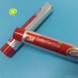 I tubi di cuoio della crema di cura dei tubi dei tubi dei tubi cosmetici di plastica di compressione hanno laminato i tubi