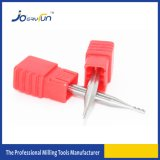 Moinho de extremidade contínuo do diâmetro do micro 1mm para Alumium
