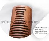 Rectángulo de bambú carbonizado Storaging líquido cilíndrico retro cómodo del vino de Eco