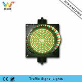 luz roja de la señal de tráfico del verde LED de la mezcla de la PC de 200m m