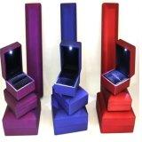 Kundenspezifisches Drucken-dekorativer niedriger Preis Jewellry Kasten mit LED-Lampen-Birne