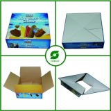 4つのアイスクリームのためのカラーによって印刷されるペーパー荷箱