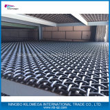 Сверхмощная шахта стали углерода сетки волнистой проволки фильтруя сетку