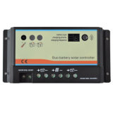luz do trabalho do controlador 12V/24V do descarregador do carregador de 10A PWM Epsolar auto e controlador do temporizador