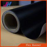 Bandera posterior de la flexión del PVC del negro