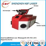 soldador portátil do laser da jóia de 60With200W Unstanding para a jóia