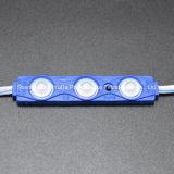 LEDの注入のモジュールの青いカラー防水3SMD5630 12V 1.5W LEDモジュール