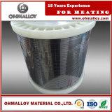 Niveau élevé du fil ASTM du fournisseur 0cr25al5 de la résistivité Fecral25/5