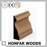 Moldeado de madera material decorativo del Baseboard que bordea