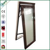 UPVC/PVC doppeltes glasig-glänzendes Markisen-Fenster