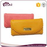 Симпатичные женщины бумажник PU кожаный длинние, портмоне женщин с оптовой ценой