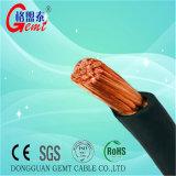 Cable auto de cobre flexible trenzado de la batería del cable del conductor