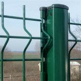 溶接された網の塀のパネル