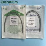 Collegare attivo termico ortodontico dentale dell'arco di Denrum Niti