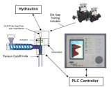 Le PVC de HDPE de la vente 100ml~6L met la machine en bouteille de soufflage de corps creux