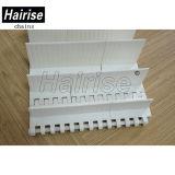 ISO-Bügel-Leitblech-Plastikförderanlagen-modularer Riemen für Stapel-Beförderung