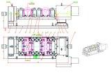 De 4-as van de Huisvesting van de cilinder Hydraulische Inrichting