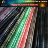 Polyester-Gewebe, kationisches Plaid-Gewebe, zwei Arten Garn, zwei Farbe gesponnenes Gewebe