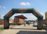 Grande cancello di pubblicità gonfiabile dell'entrata per le attività esterne