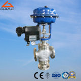 Tipo de mistura 3-Way pneumático válvula de regulamento do fluxo (ZMAQ)