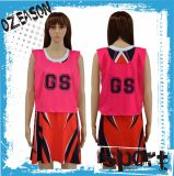 Vente en gros Cheap Custom High Quality Girls A Line Netball Dresses