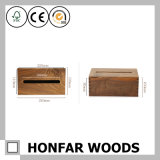 Коробка ткани черного грецкого ореха деревянная для трактира дома гостиницы