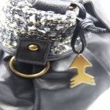 Neues Frauen PU-Schulter-Beutel-beiläufiges Handtaschen-Form-Zusatzgerät