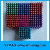 Bereich-Magnet-Kugeln Neocube Buckyball der seltenen Massen-bunte 5mm