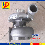 OEM van de Turbocompressor van Turbocompresor van de motor 6wg1 (114400-3830)
