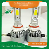 Lumen DVR pronto per l'uso C6 H1 H3 H7 H8 H11 880 del faro dell'automobile di C6 LED alto (881) 9005 (HB3) 9006 (HB4) 9012
