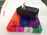 私達を折るプラグ2二重USBのユニバーサル携帯電話の充電器