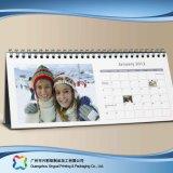 Calendario de escritorio creativo para el regalo de la decoración de la fuente de oficina (xc-stc-018b)
