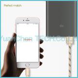 câble usb micro de remplissage rapide de caractéristiques de 1m/2m/3m/5m pour l'iPhone/Samsung