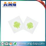 E支払のための13.56MHz Hf NFC Ntag215 RFIDのステッカーのラベルの札