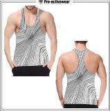 Glänzendes Sport-Art-Eignung-Ebenemens-Tragbalken-Unterhemd