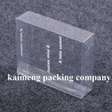 Contenitore di plastica di maniglia della fabbrica del rifornimento dell'animale domestico professionale della radura per il pacchetto del iPad (contenitore di plastica di maniglia)