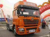 De Vrachtwagen van de Tractor van Shacman F3000 met de HoofdVrachtwagen van de Tractor van de Motor van Cummins 6X4