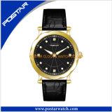 Wristwatch повелительниц Movt диаманта конструкции способа швейцарский