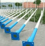 Straßenlaterneder Aluminiumlegierung-Karosserien-LED mit Stahlpolen
