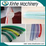 ligne de tissu-renforcé chaîne d'extrusion de pipe de pipe de PVC de 12-50mm de production de boyau de jardin/extrudeuse en plastique