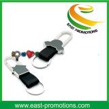Trousseau de clés en gros en métal de boucle multiple