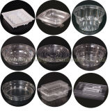 Voller automatischer Plastikcup-Kappen-Deckel-Tellersegment-Kasten, der Maschine für Haustier-Produkte Belüftung-PS herstellt