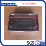 Caixa profissional do empacotamento plástico para o bolo
