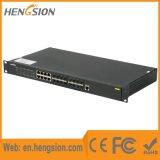 Gestito 24 gigabit Ports l'interruttore di rete industriale di Ethernet della fibra