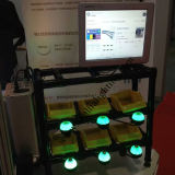 Nueva luz del pulsador con indicador 12-30V para el taller del accesorio auto