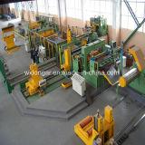 Высокоскоростной резец катушки металла работая в линии вырезывания