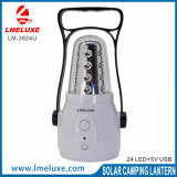 indicatore luminoso Emergency ricaricabile di 24LED Capming