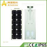 Nuovo 30W 5 anni di garanzia tutta in una lampada da parete chiara esterna solare di potere di Sun